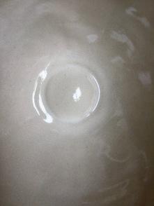 un beau blanc sable, blanc-écume pour le grès alimentaire