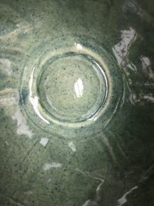 couleur bleu-mer, vert-bleu pour le grès alimentaire