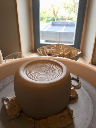 le tournassage en poterie