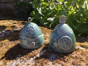 boite en céramique yin aum