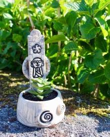Poterie Toramur pot raku succulente