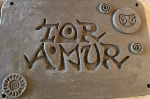 Poterie Toramur projet plaque atelier