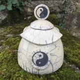boite en raku Yin Yang