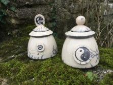 boite artisanale yin yang en raku