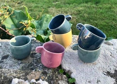 poterie toramur tasse café anse