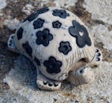 poterie toramur tortue raku