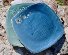 poterie toramur grande assiette carree
