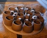 Poterie Toramur mug cuir