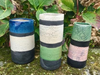 Poterie Toramur 3 vases tubes