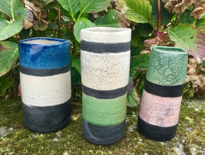 Poterie Toramur 3 vases tubes