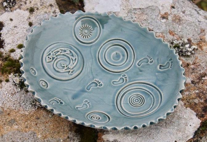 Poterie Toramur coupelle large ovale