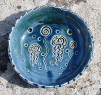 Poterie Toramur coupelle ronde méduses