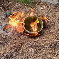 Poterie Toramur raku feu