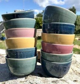 poterie toramur 12 mini coupelles