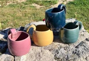 poterie toramur 4 mugs